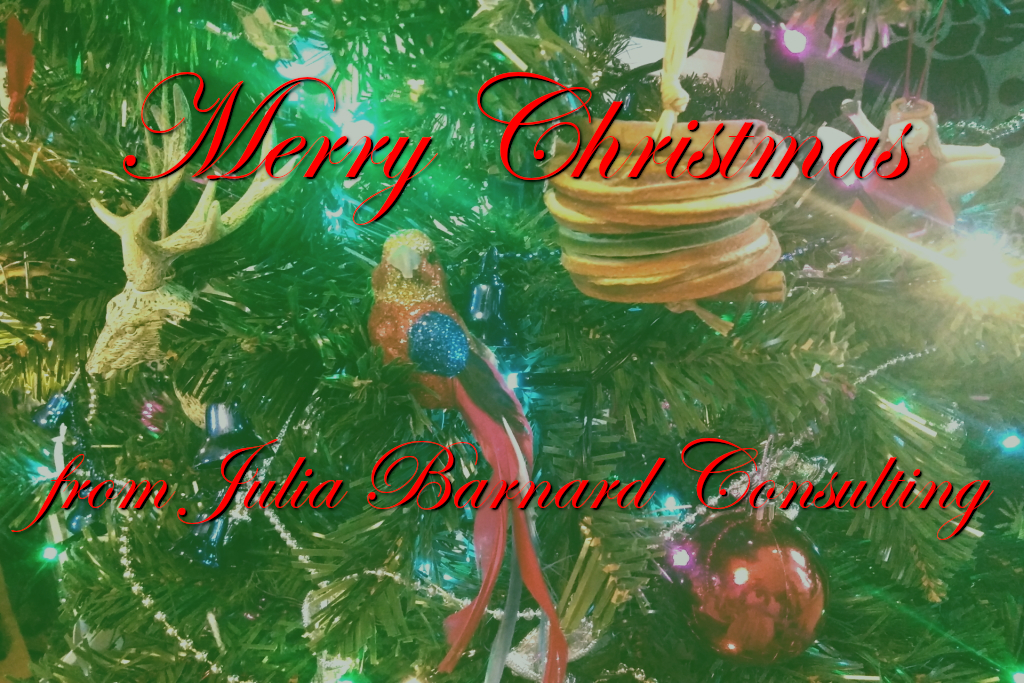 Merry Christmas from Julia Barnard Consulting