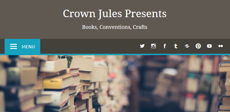 Header image for the blog at Crown Jules Presents
